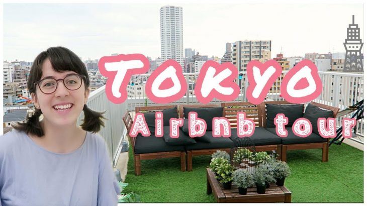 Tokyo Airbnb Tour: Japanese Apartment with Skytree view