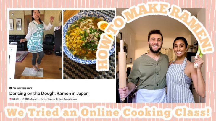 We Tried Airbnb Experiences: Learning How to Cook Ramen in Japan!