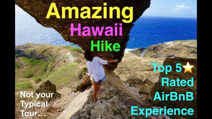 Top Rated Hawaii Tour Guide on AirBnB Experiences in Oahu, brings you to an Amazing Hike
