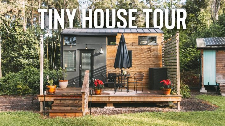 Tiny House That Sleeps 5! Airbnb Tiny Home Tour Hawaii!