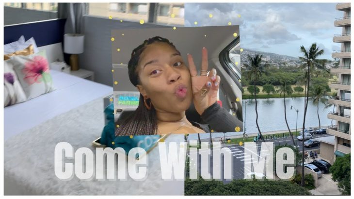 TRAVEL VLOG | COME WITH ME TO HAWAII, WAIKIKI AIRBNB TOUR, QUEEN AMEIRICA