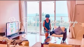 TRAVEL DIARY | AIRBNB ROOM TOUR *Our first time experience * unpack our stuff with me💕